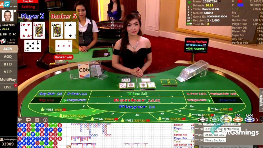 Online Live Casinos in Asia